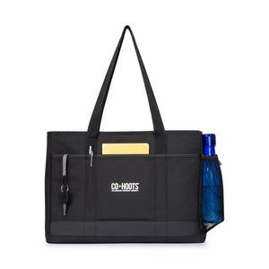 Mobile Office Computer Tote - Black