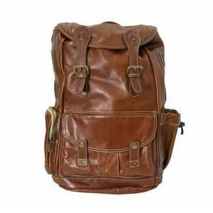 Deluxe Premium Florentine Leather Rucksack Bag